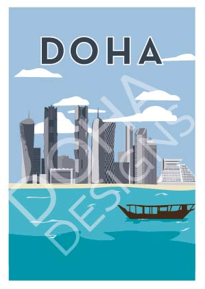 DOHA Illustration from Doha Designs