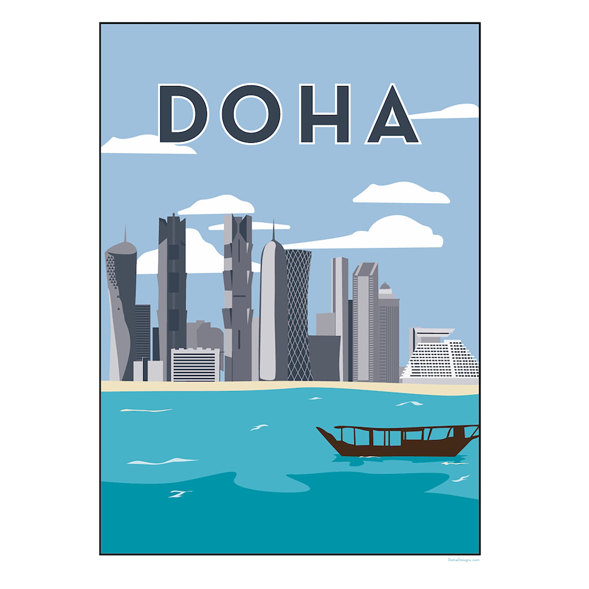 Sale Doha Prints