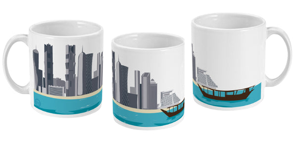 Doha Mug (all sides view)