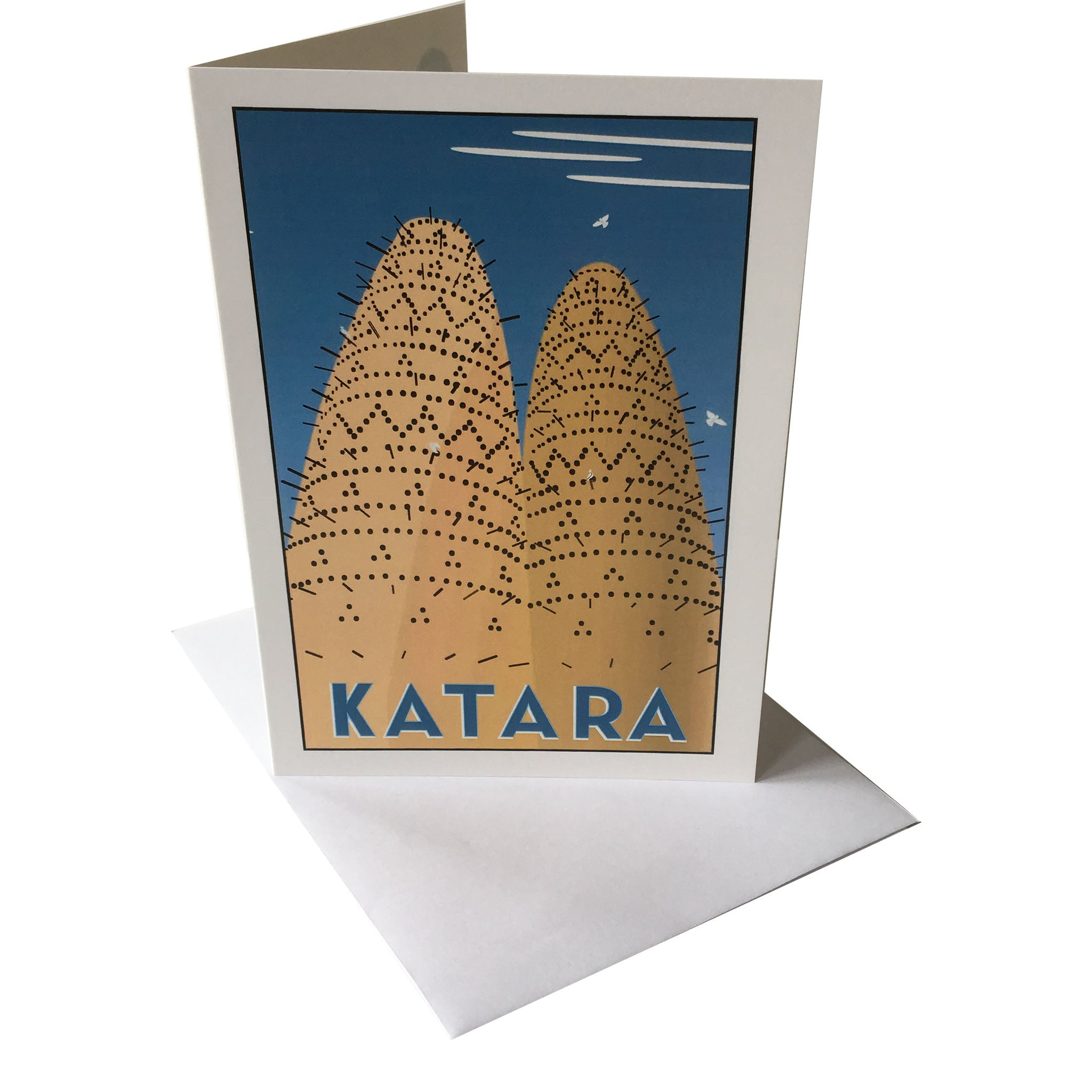 Katara Greetings Card