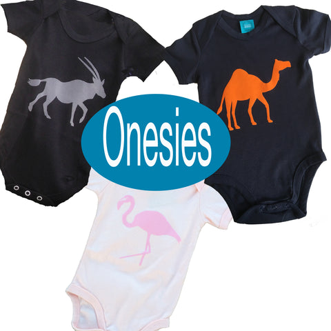 Group of Onesies from Doha Designs