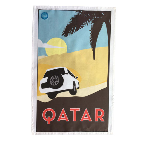 Qatar Tea Towel
