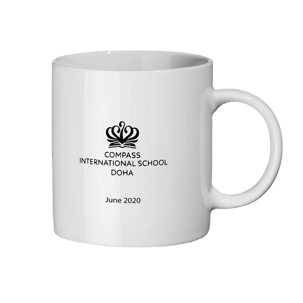 Logo example personalised mug