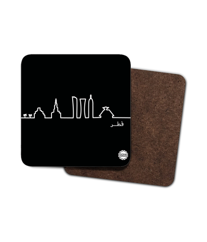Skyline (abstract) Coaster