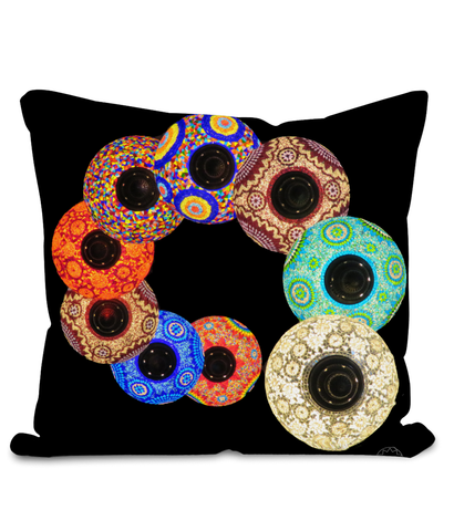 Lanterns Cushion
