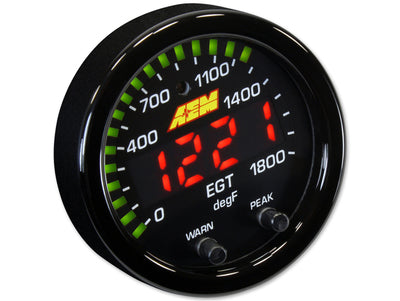 AEM EGT Gauge X-series