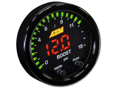 AEM 15psi Boost Gauge X-series