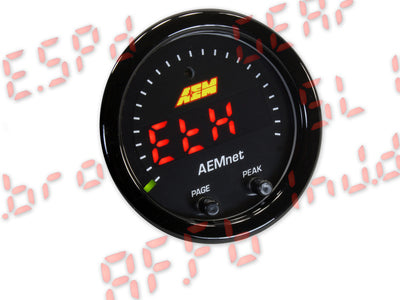 AEMNet CAN bus Gauge X-series