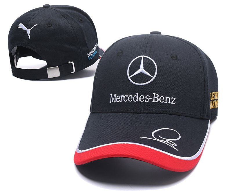 MERCEDES AMG Car Snapback hat(Red and Black)