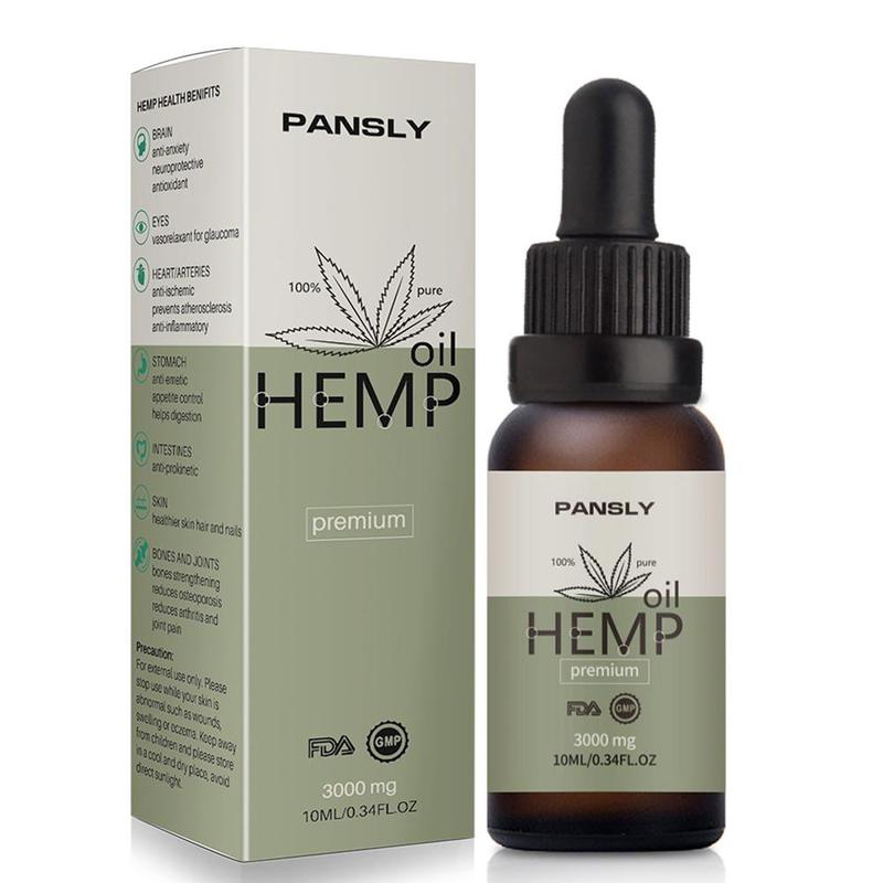 PANSLY Hemp Oil 3000mg