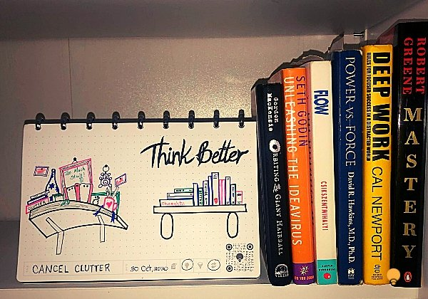 Cancel Clutter | THINKERS Notebook