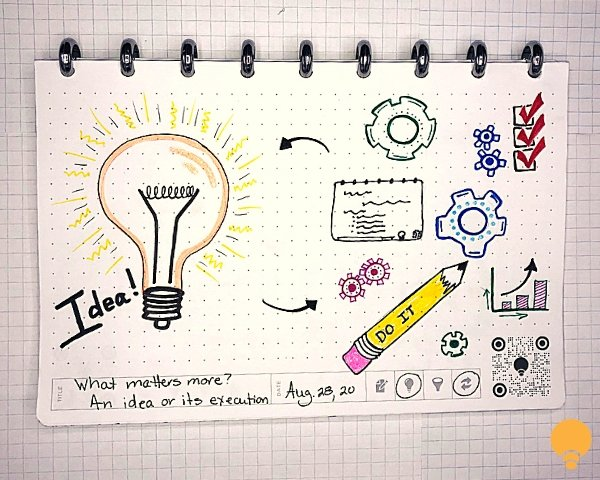 Ideas or Execution -- what do YOU think is more important? | THINKERS Notebook