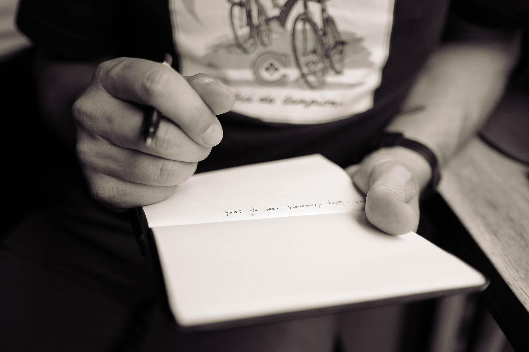 The Enduring Power of Putting Pen to Paper | THINKERS Notebook