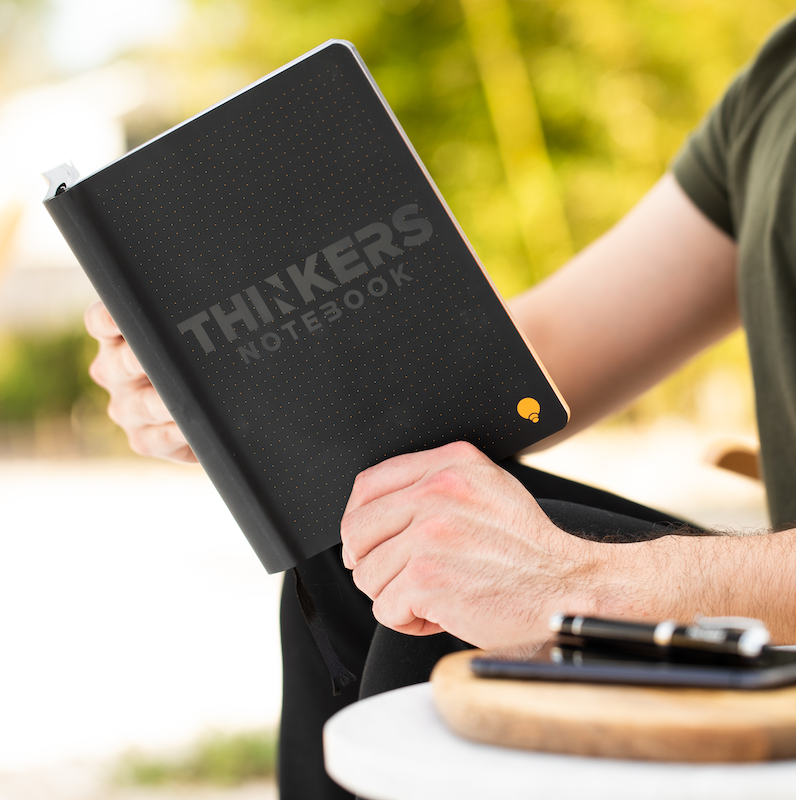 Your notebook makes a statement about you - so make it memorable with the THINKERS Notebook. This beutifully designed journal make a statement about who you are - from the boardroom to the classroom.