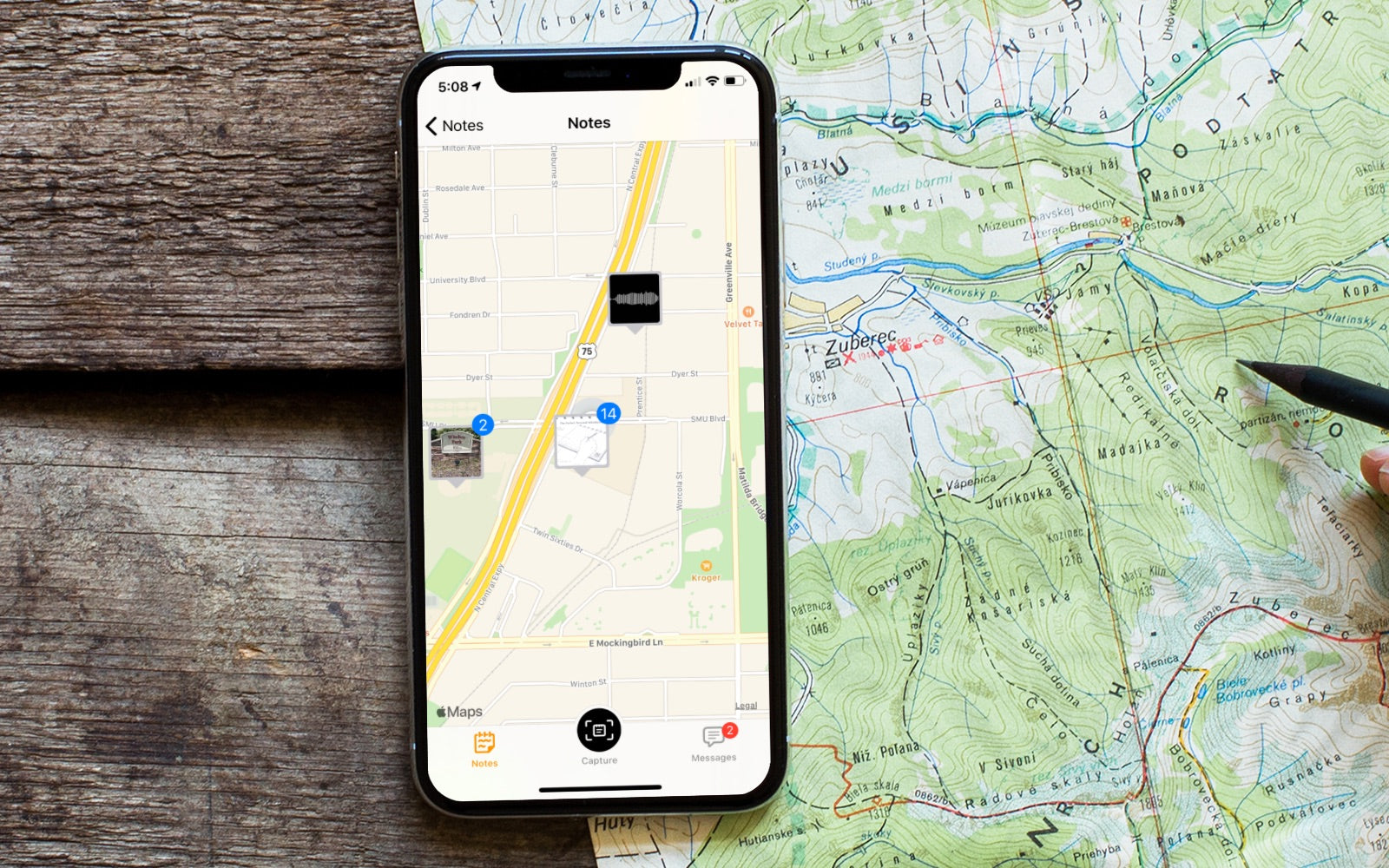 Do you travel? The THINKERS App makes it easy to find your notes with our built-in mapping feature. The perfect solution for consultants, bloggers, and travelers that want a quick way to find their handwritten notes based on their location.