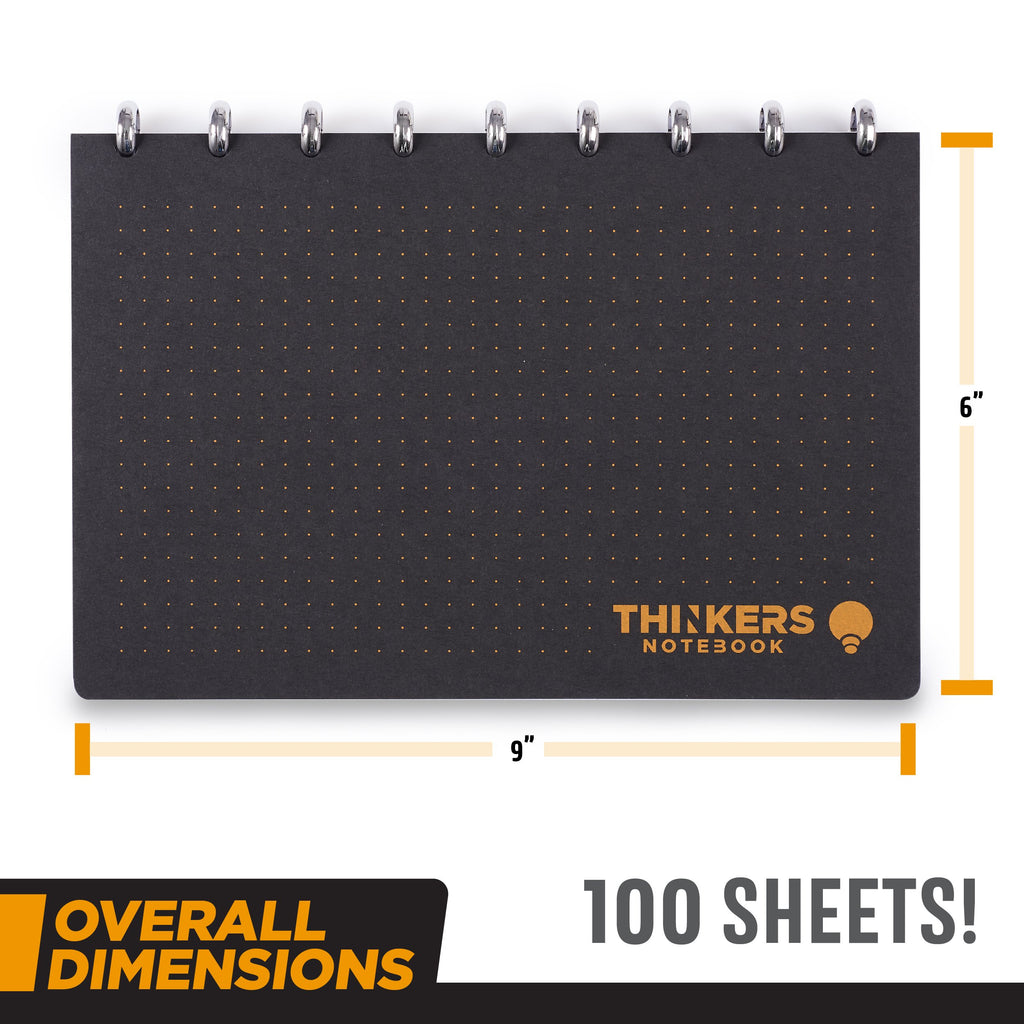 THINKERS Notebook with 100 premium pages