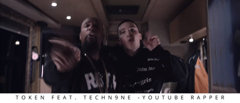Token Feat. TechN9ne - Youtube Rapper