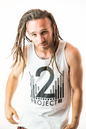 Project 2 Men's White Tank