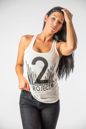 Project 2 Women's White Tank