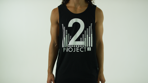 Project 2 Men's Black Tank