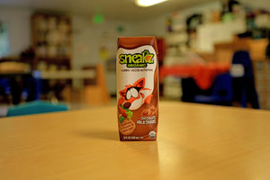 A Sneaky Organic Chocolate Milk Celebration at one California School