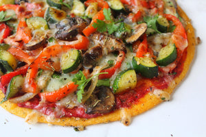 Loaded Vegan Pizza