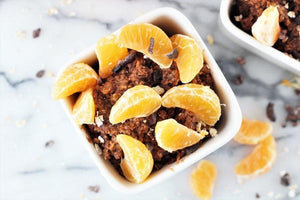 Orange Dark Chocolate Oatmeal