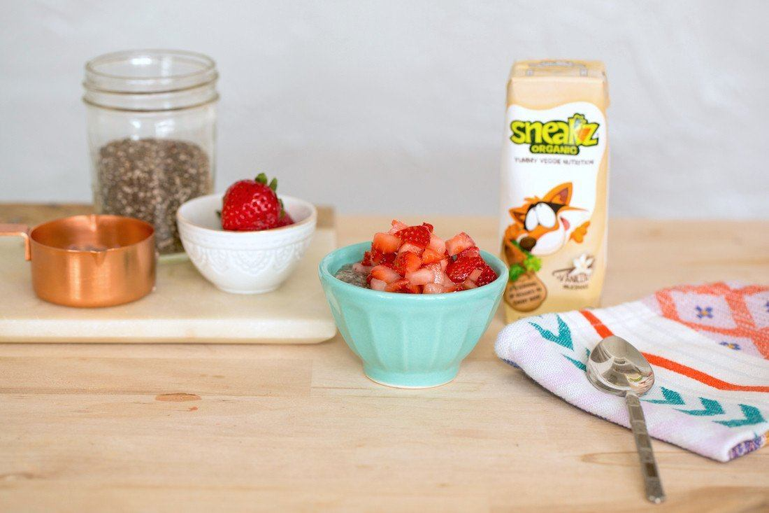 Chia Seed Pudding Recipe for Kids