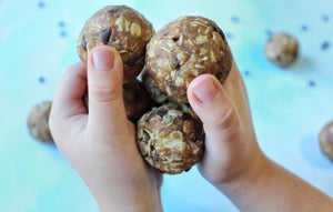 Chocolate Chip Sunbutter Cookie Dough Protein Balls