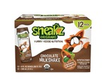 Milkshakes Nutrition Shakes for Kids Shake Sneakz Chocolate twelve pack
