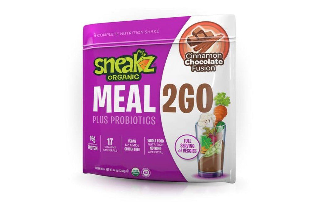 Sample Meal2Go Organic Meal Replacement Protein Powder Sneakz