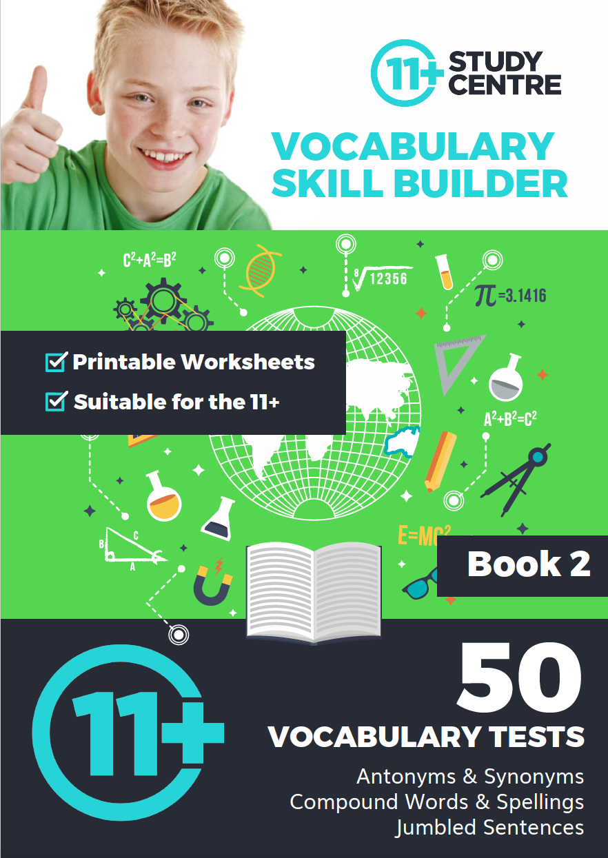 50 Vocabulary Tests - Book 2