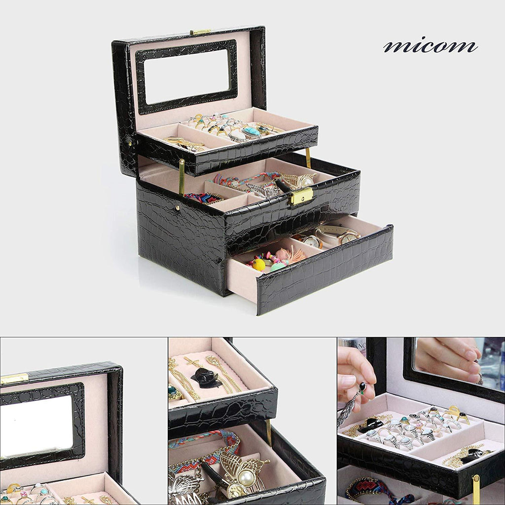 3-Layer Leather Organizer