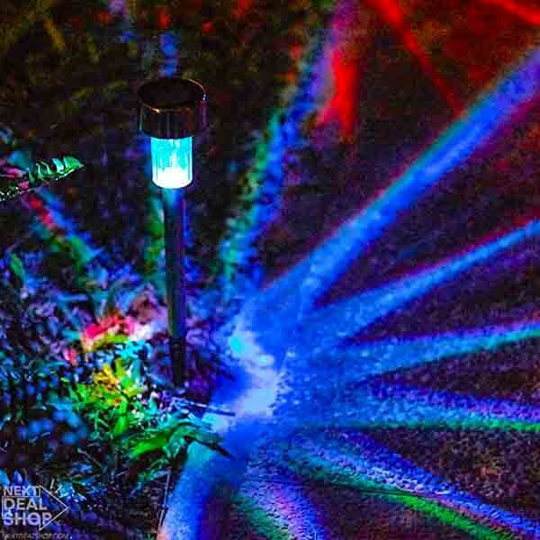 85%OFF Day-Solar-Powered Multi-Color LED Garden Lights