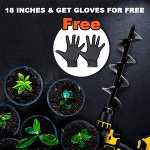 (Get a free pair of gloves which & 65% OFF) Spiral Hole Drill
