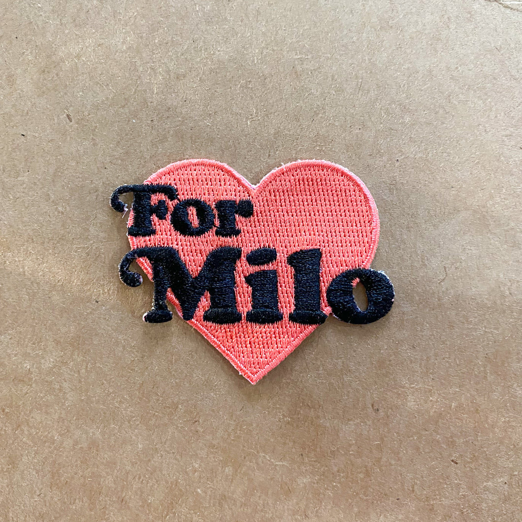 For Milo Patch