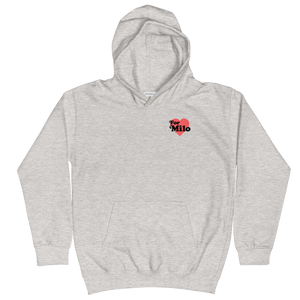 Light Heather Gray Kids Unisex Hoodie