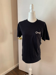 the above pocket snaffle tee