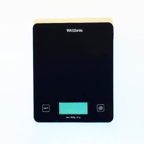 Willem Nutrition Scale Application Connected