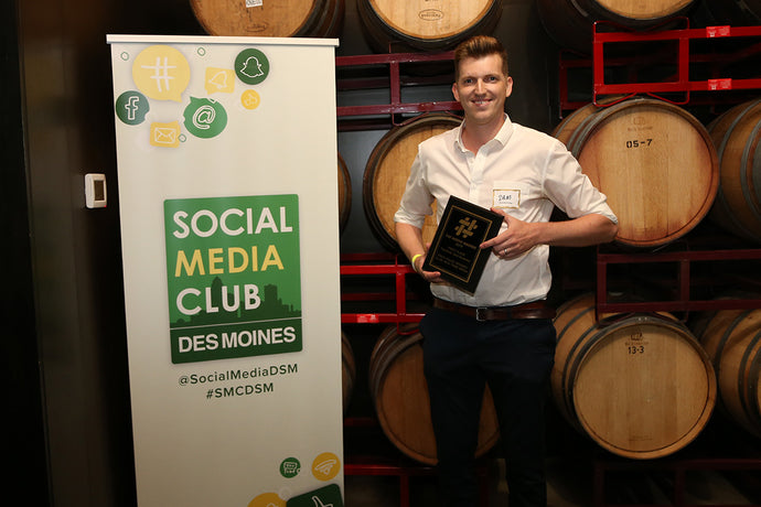 RackHouse Whiskey Club Wins Social Media Club Award for Best Facebook Business Page