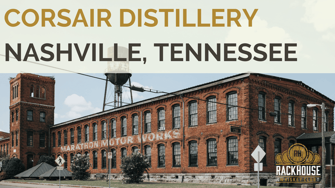 Corsair Distillery: Tennessee whiskey but not as you know it