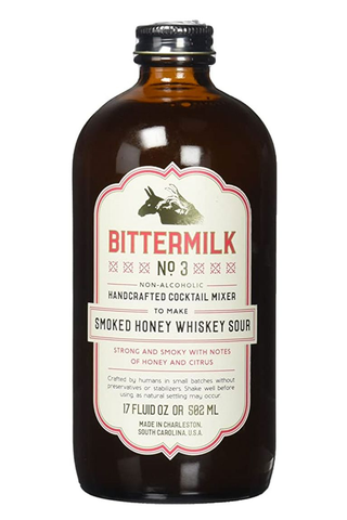 Bittermilk Smoked Honey Whiskey Sour Cocktail Mix