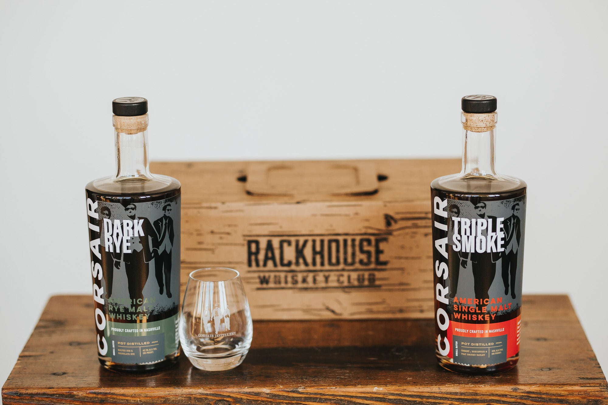 Corsair Distillery RackHouse Whiskey Club