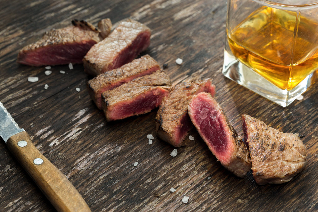 Ways to cook with whiskey