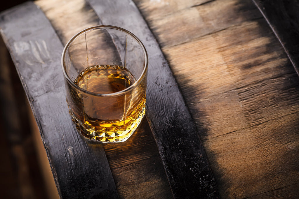 What is barrel-proof whiskey
