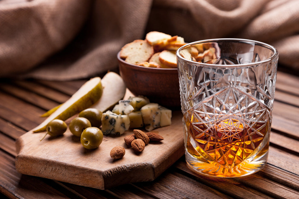 The right snacks to pair with whiskey