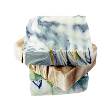 Load image into Gallery viewer, Stack of three Willow & Jade Organics Vegan Soap Bar