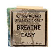 Load image into Gallery viewer, Willow & Jade Organics Vegan Soap Bar Breath Easy