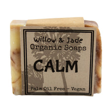 Load image into Gallery viewer, Willow & Jade Organics Vegan Soap Bar Calm