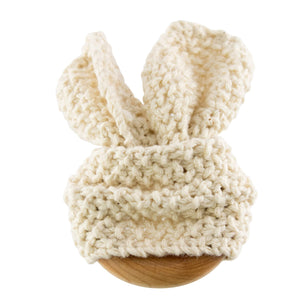 Organic Cotton Bunny Ear Teether